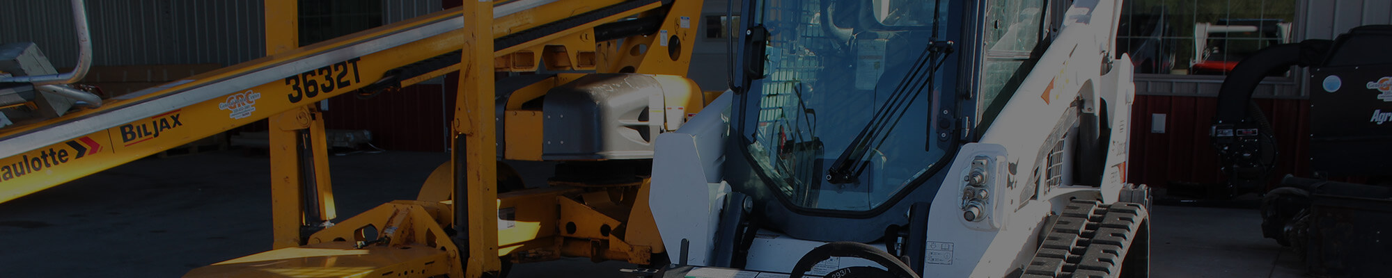 Bobcat available for rent from General Rental Center in Little Falls, MN